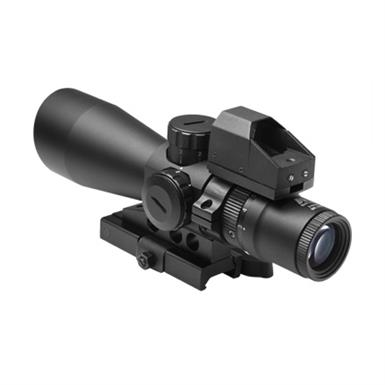 NcSTAR 3-9x42 Ultimate Sighting System with Gen 2 / Mil Dot Micro Green Dot Gen 2 Reflex Sight