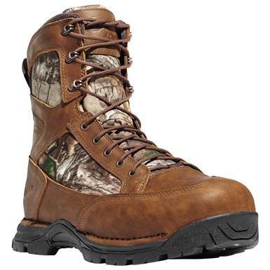 "Danner Men's 8"" Pronghorn GRX Waterproof Insulated Hunting Boots, 1,200 Gram"