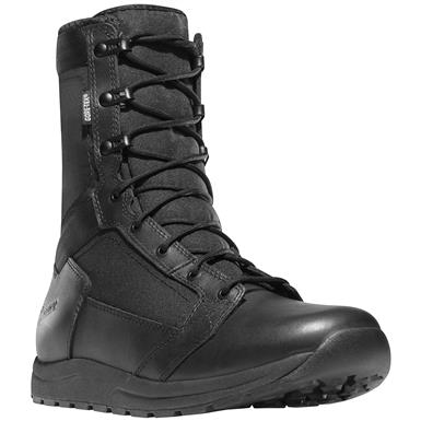 "Danner Men's 8"" Tachyon GTX Waterproof Combat Boots, Black"