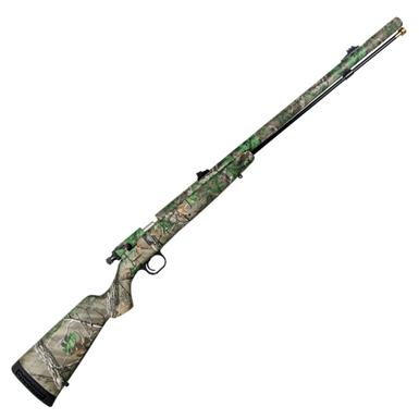 Knight® TK2000 12-gauge Black Powder Shotgun with Straight Stock, Realtree Xtra®