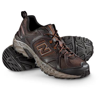 New Balance Men's 481 Trail Runner Shoes, Brown