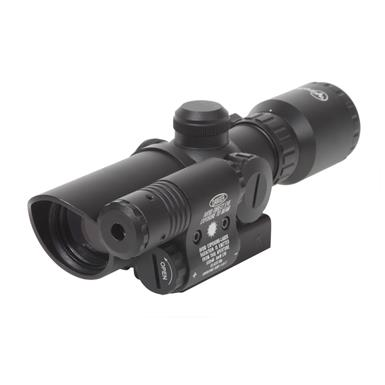 Firefield® 1.5x5X Rifle Scope with Green Laser