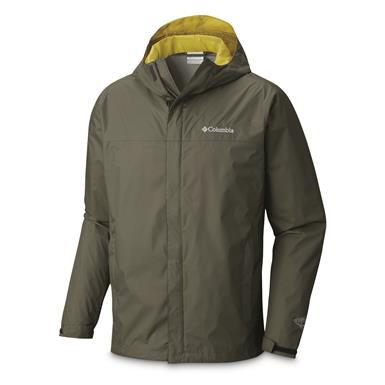 Columbia Men's Watertight II Jacket, Gravel/Peppercorn