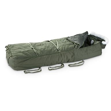 HQ ISSUE Military-Style Evac/Rescue Sleeping Bag
