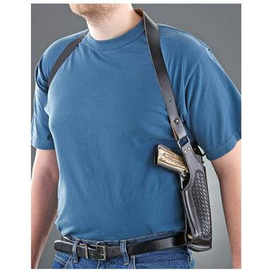 Cebici Leather Shoulder Holster, Black