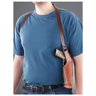 Cebici Leather Shoulder Holster, Tan