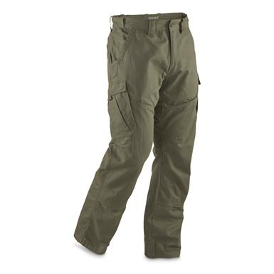 Guide Gear Men's Ripstop Cargo Work Pants, Moss