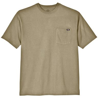 Dickies® Short-sleeved Heavyweight Crew Neck T-shirt, Desert Sand
