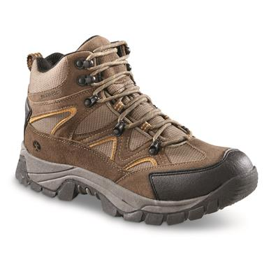 Northside Men's Snohomish Waterproof Mid Hiking Boots, Tan/Dark Honey