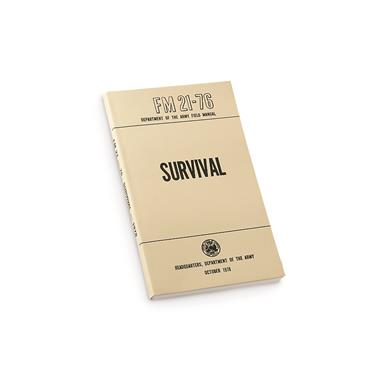New U.S. Military Surplus Technical Manual on Survival