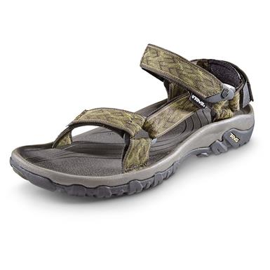 Teva Men's Hurricane XLT Sandals, Wavy Trail Olive