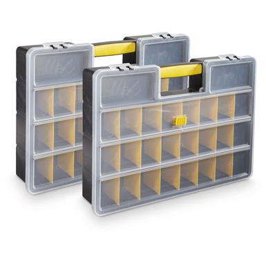 Performance Tool 26 Compartment Organizer, 2 Pack
