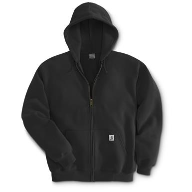 Carhartt Men's Hooded Zip Sweatshirt, Black