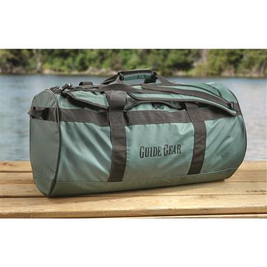 Guide Gear Dry Duffel Bag, 90 Liters, Green