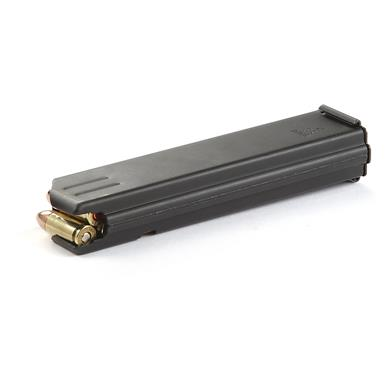 CPD AR-15, 9mm Luger Caliber Magazine, Stainless Steel, 20 Rounds
