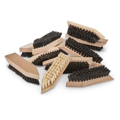 Polish Military Surplus Boot Brushes, 10-Pack, New