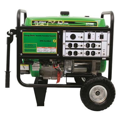 LIFAN Energy Storm 5,500W 11 hp CARB-certified Generator