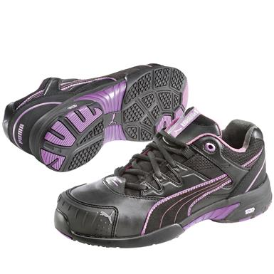 Women's Puma Safety Stepper SD Low Safety Toe Shoes