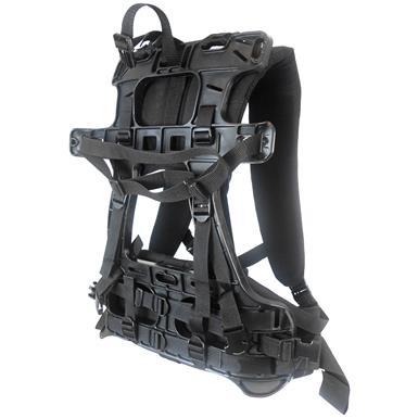Portable Winch Co. PCA-0104 Molded Backpack Frame for Transport Case and Vinyl Rope Bag PCA-0104