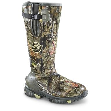 Irish Setter Rutmaster 2.0 Men's Insulated Rubber Hunting Boots, 1,200 Gram, Realtree Xtra Camo, Mossy Oak Break-Up® COUNTRY™