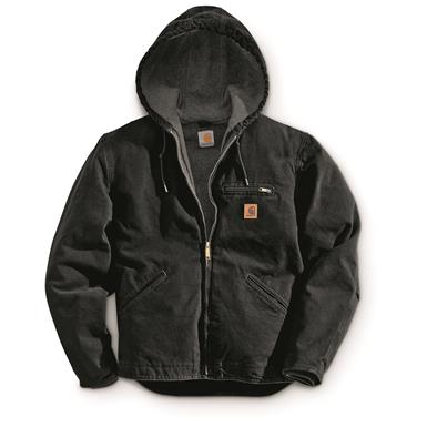Carhartt Men's Sierra Jacket, Black