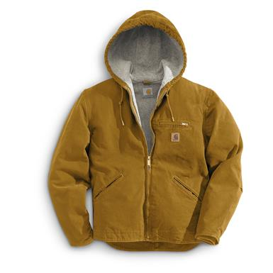 Carhartt Men's Sierra Jacket, Carhartt Brown