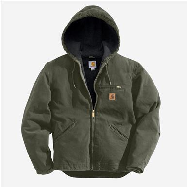 Carhartt Men's Sierra Jacket, Moss