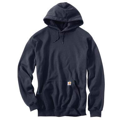 Carhartt Men's Midweight Hooded Sweatshirt, New Navy