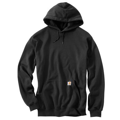 Carhartt Men's Midweight Hooded Sweatshirt, Black