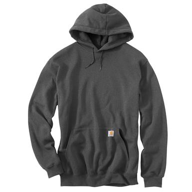 Carhartt Men's Midweight Hooded Sweatshirt, Charcoal Heather