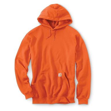 Carhartt Men's Midweight Hooded Sweatshirt, Orange