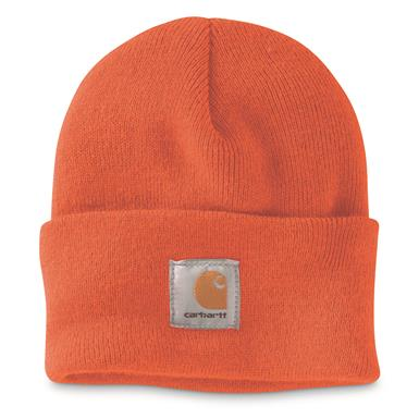 Carhartt Acrylic Watch Hat, Bright Orange