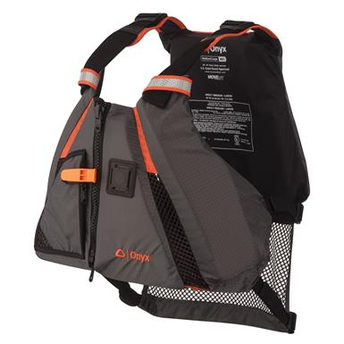 Onyx 1222 Orange MoveVent Dynamic Type III PFD Life Vest