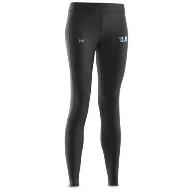 Under Armour Women's UA Base 2.0 Leggings, Black/Cortez