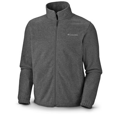 Columbia Men's Steens Mountain 2.0 Fleece Jacket, Charcoal Heather