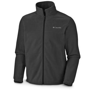Columbia Men's Steens Mountain 2.0 Fleece Jacket, Black