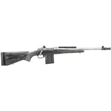 "Ruger Gunsite Scout, Bolt Action, .308 Winchester, 18.7"" Barrel, 10+1 Rounds"