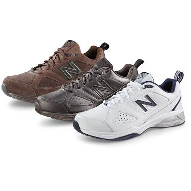 New Balance Men's 623v3 Cross Trainer Shoes, Brown Nubuck (103