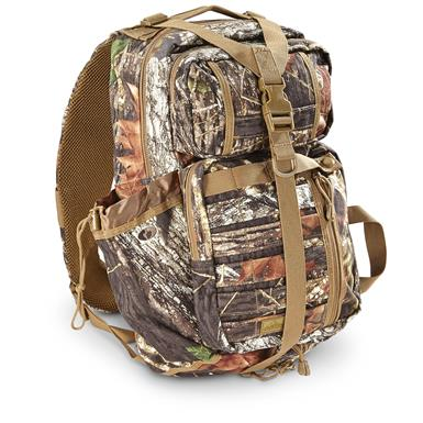 Red Rock Outdoor Rambler Sling Pack, Mossy Oak Break-Up