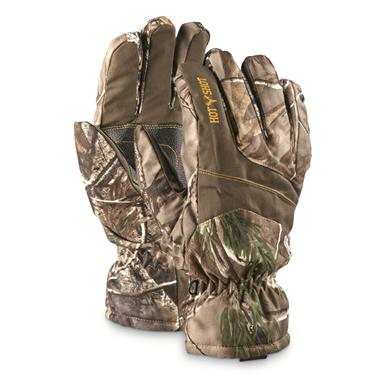 Hot Shot Men's Camo Hunting Gloves, Waterproof, 2 Pack, Realtree Xtra, Realtree Xtra®