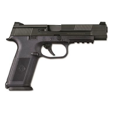FN FNS-9 Longslide, Semi-automatic, 9mm, 17+1 Rounds