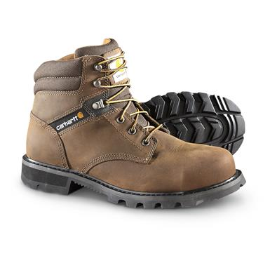 "Carhartt Men's 6"" Traditional Welt Work Boots, Brown"