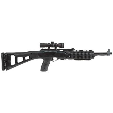 "Hi Point 995 Carbine, Semi-Automatic, 9mm, 16.5"" Barrel, 4x32mm Scope, 10+1 Rounds"
