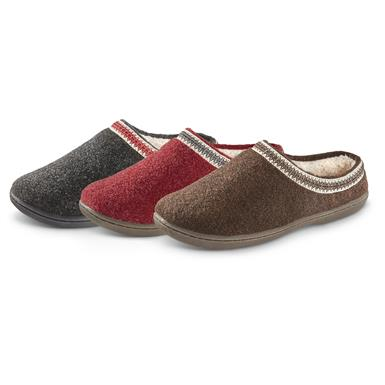 Guide Gear Women's Wool Clogs, Charcoal (107
