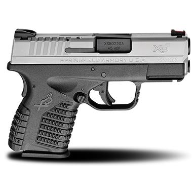 "Springfield XD-S, Semi-Automatic, .45 ACP, 3.3"" Barrel, 5+1 / 6+1 Rounds"