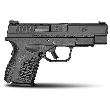 "Springfield XD-S, Semi-Automatic, .45 ACP, 4"" Barrel, 5+1 / 6+1 Rounds"