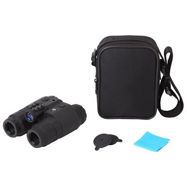 Includes carry case and lens cloth