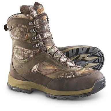 Danner High Ground Insulated Waterproof Hunting Boots, 1000 Grams, Realtree Xtra