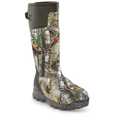 "LaCrosse Men's Alphaburly Pro 18"" Insulated Rubber Hunting Boots, 1,600 Grams, Realtree Xtra®"