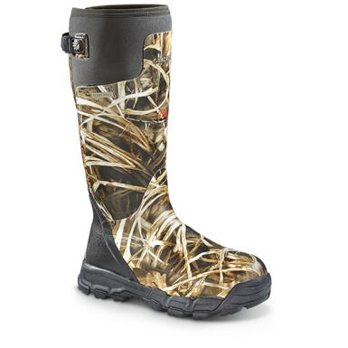 "LaCrosse Men's Alphaburly Pro 18"" Insulated Camo Boots, 800 Grams"